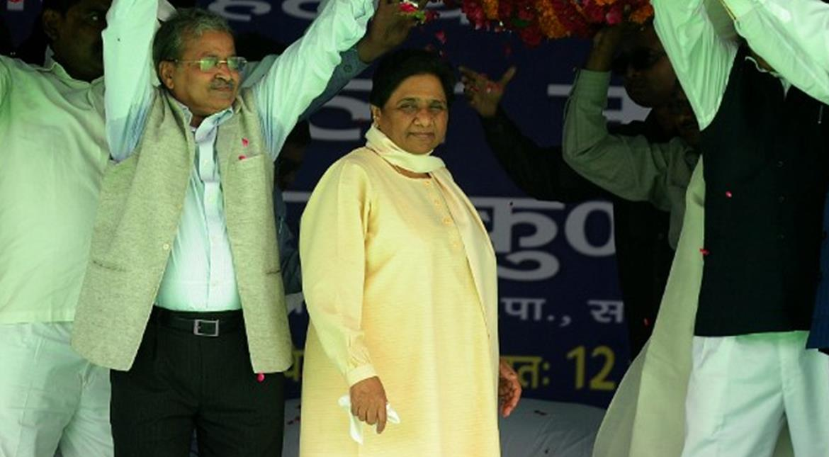 BJP attacks Mayawati over Rs 104 cr in bank account