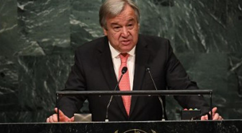 UN chief Guterres speaks with US President-elect Trump