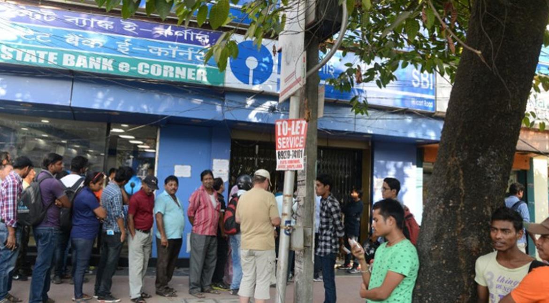 Demonetisation: Spending nights outside bank, people battle fear of leopards