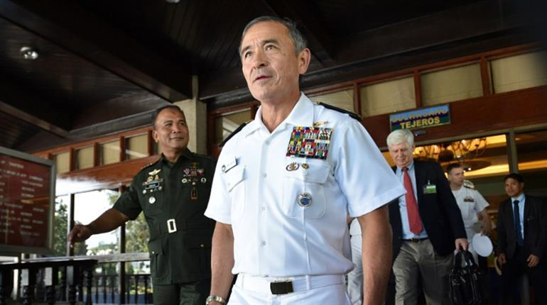 US ready to confront Beijing on South China Sea issue: Pacific fleet chief