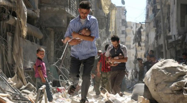 Syria: White Helmets accuse Russia of 'war crimes' in Aleppo