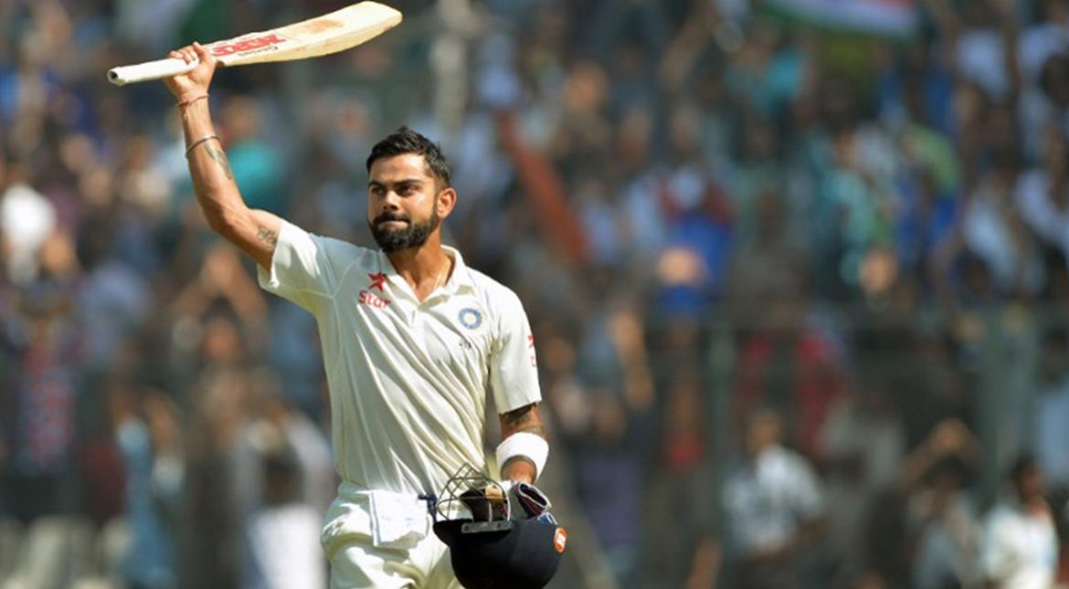 No place for Virat Kohli in the ICC Test team of the year 2016