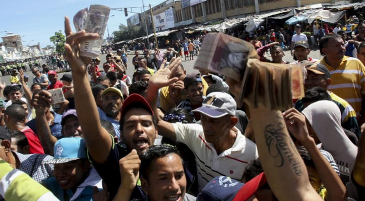Venezuela: Cash crisis triggers protests; three deaths reported