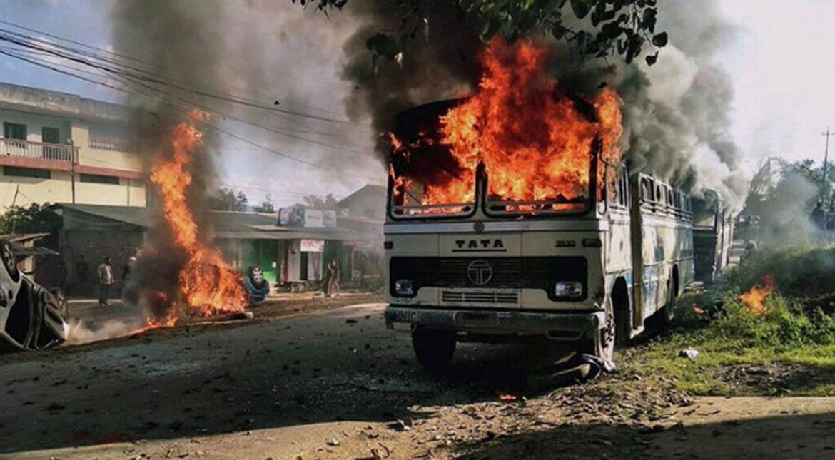 India: Three government offices burnt down in Manipur