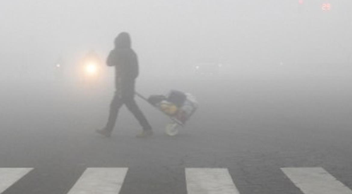 China: Heavy fog disrupts traffic