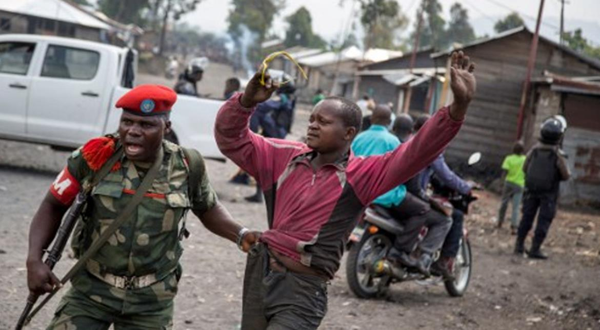 Protests erupt in Congo as President Kabila's mandate expires