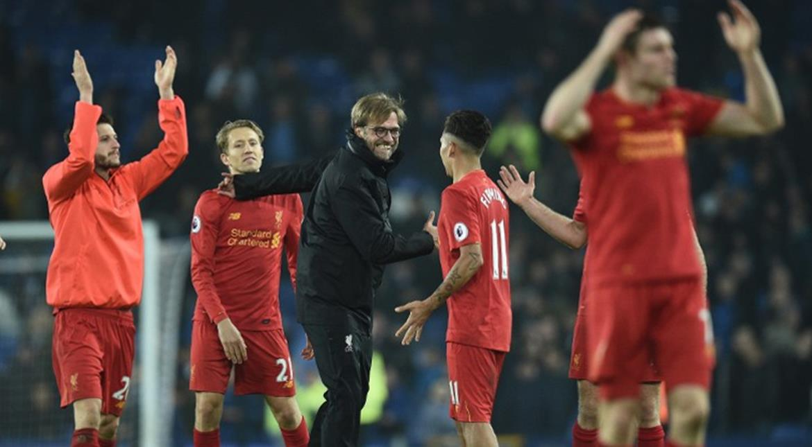 Klopp says little more luck on injury front, and they'll go top