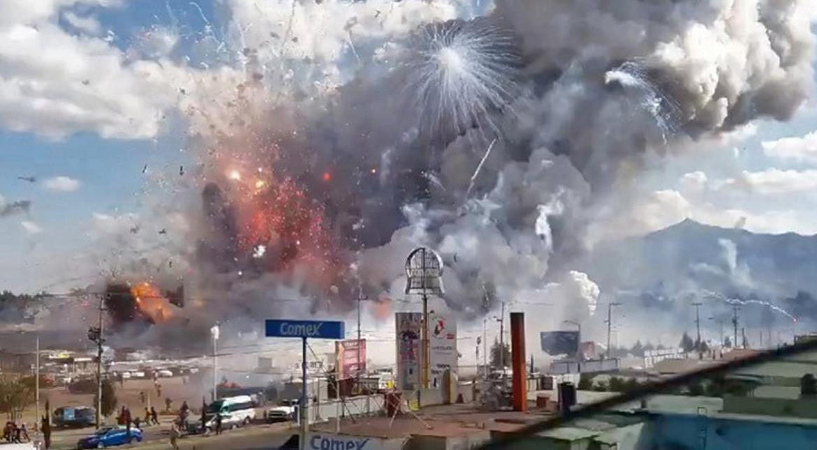 Mexico: Death toll rises to 35 from explosion at fireworks market