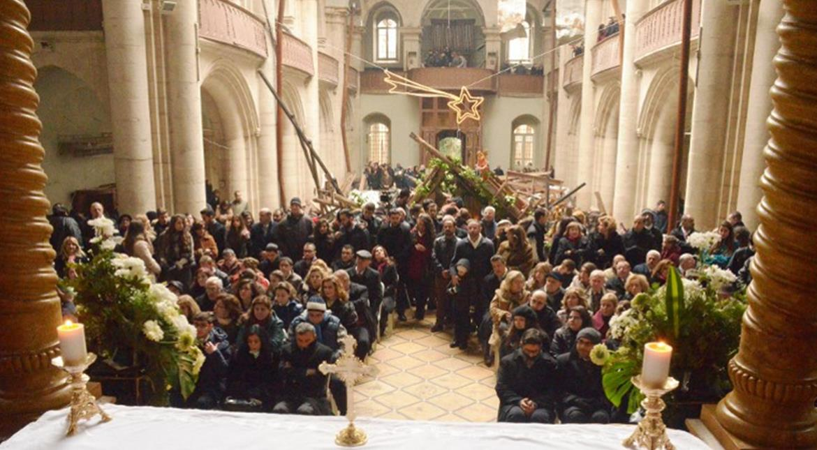 Aleppo: After 5 years of war, a Christmas celebration