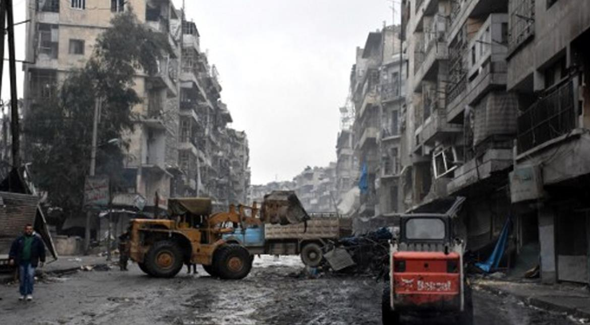 Aleppo: The massive task of rebuilding a shattered city