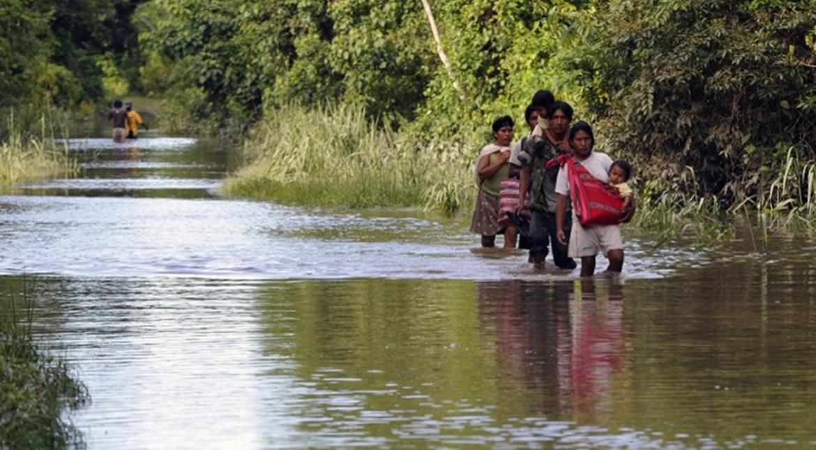 Hundreds evacuated as heavy rain triggers floods in Bolivia