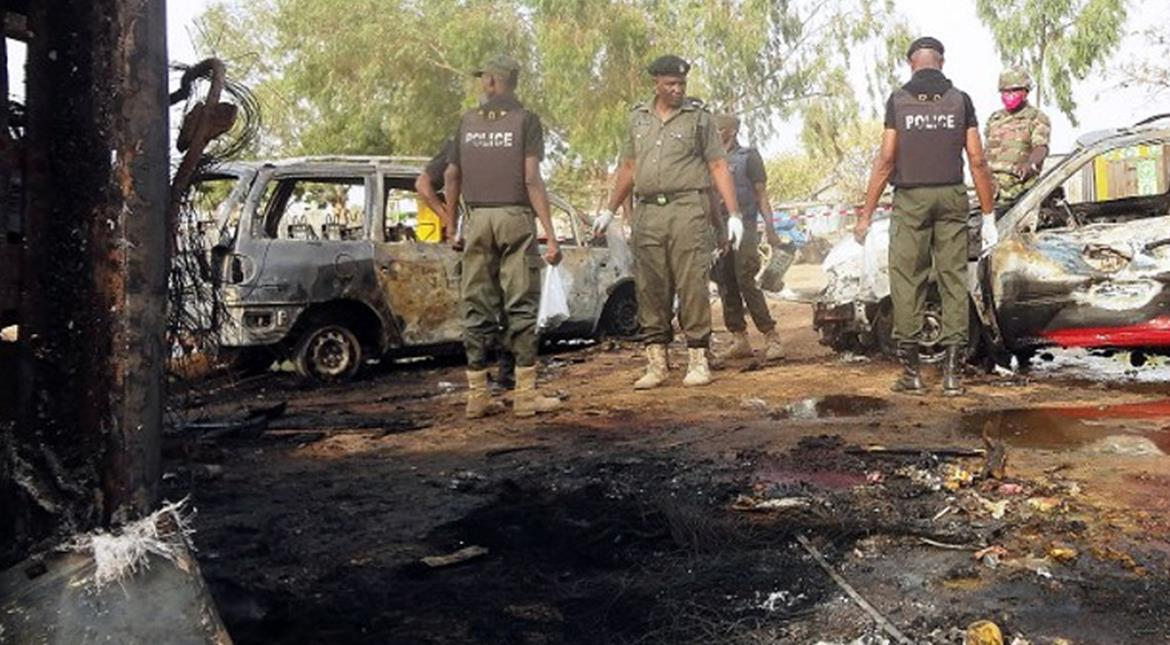 45 killed in suicide attacks in northeast Nigeria: Army