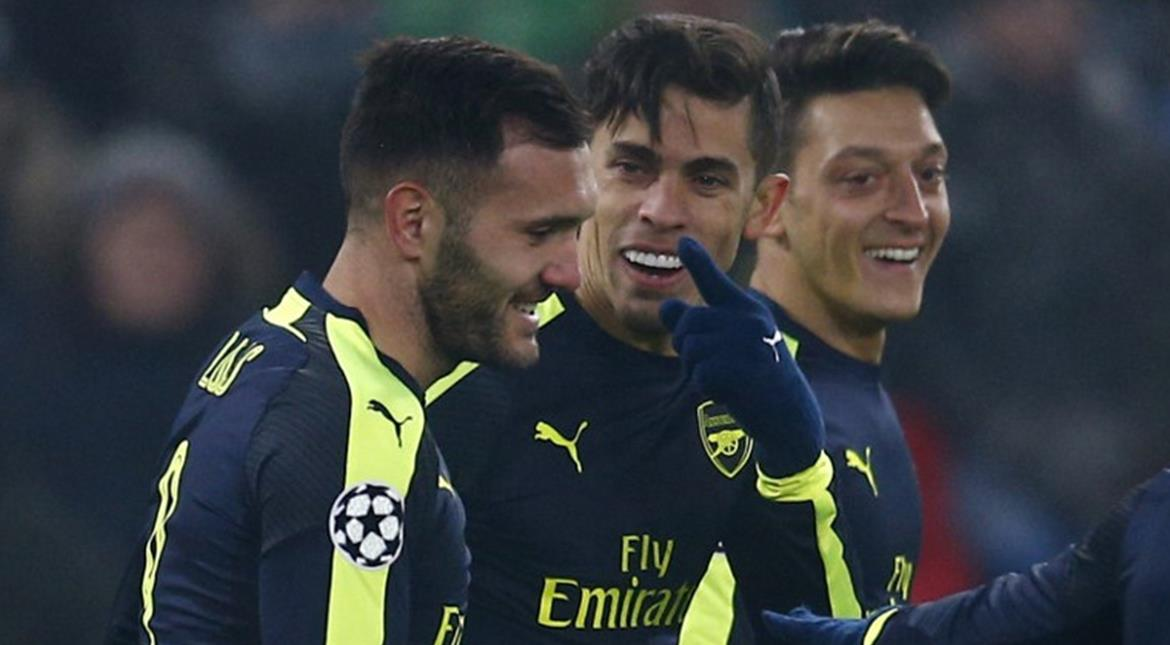 Arsenal punching their weight again in Europe