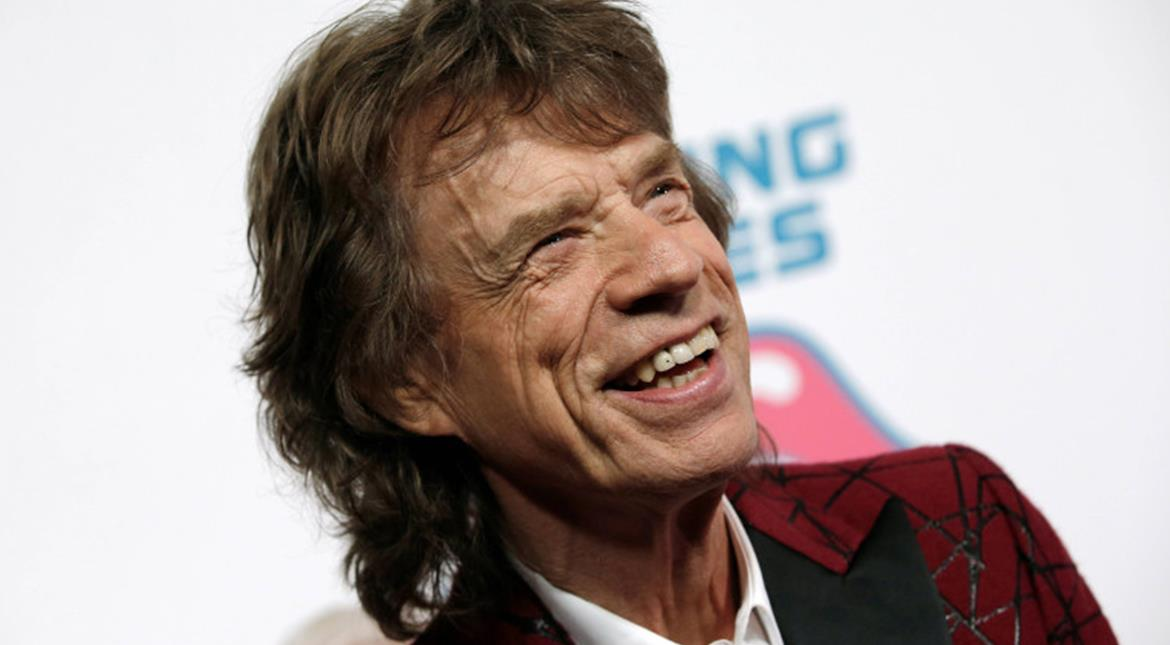 Mick Jagger becomes dad for eighth time at 73