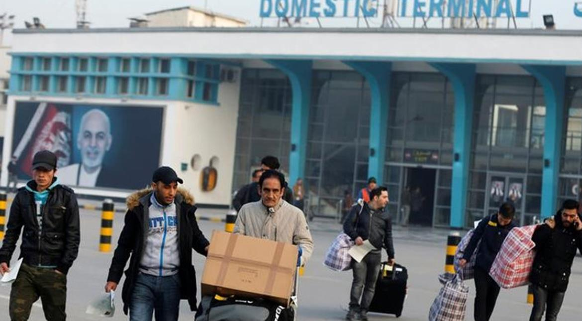 First batch of Afghans deported from Germany arrive in Kabul