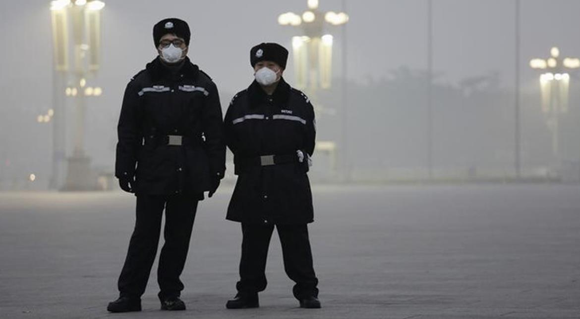 China: Environmental authorities advise 23 northern cities to issue red alerts for smog