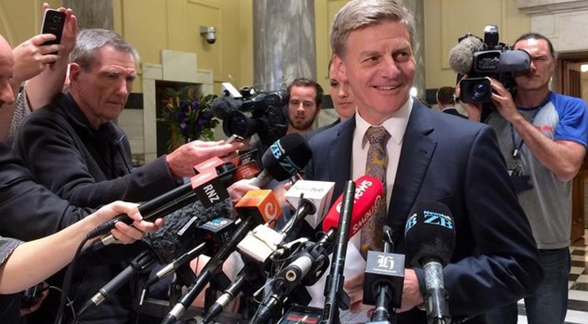 New Zealand's new prime minister names his cabinet, changes inner circle