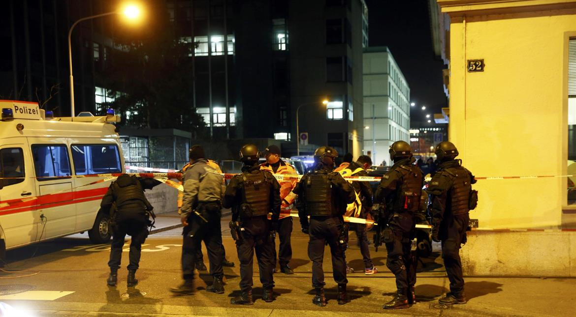 Three wounded in Zurich Islamic centre shooting