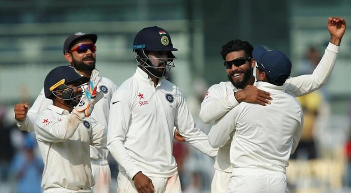 Cricket: India beat England by innings and 75 runs, win Test series 4-0