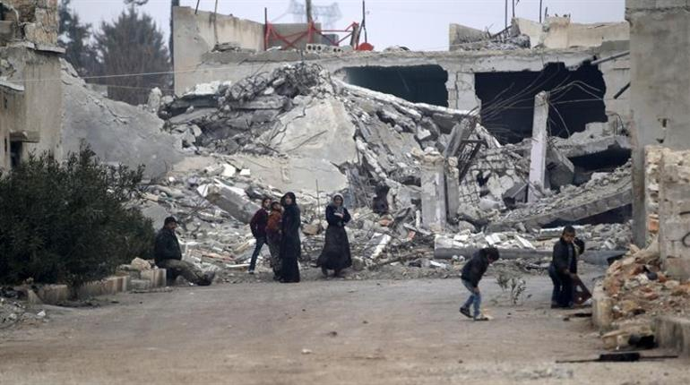 Syrian government forces regain control over western village