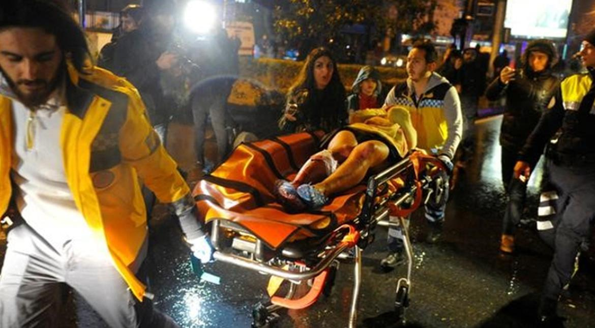 Istanbul: 39 killed, 69 wounded in New Year gun assault on nightclub