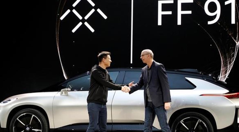 CES 2017: Faraday Future unveils luxury electric SUV