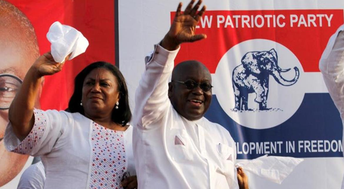 Ghana: Opposition leader Afuko-Addo wins presidential election