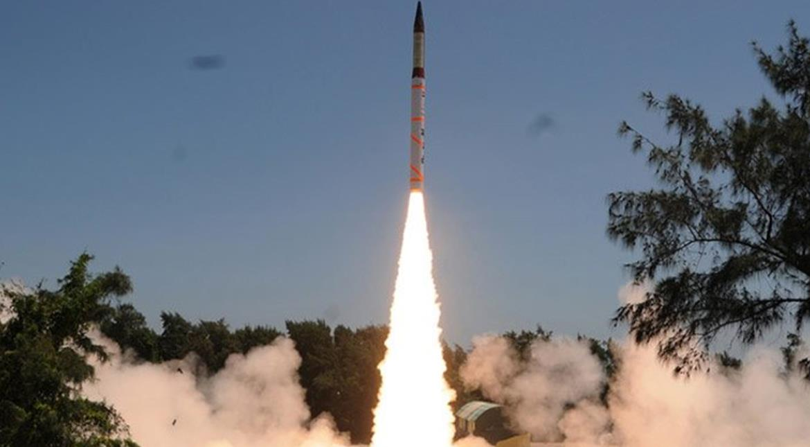 India successfully test-fires nuclear capable missile Agni-IV