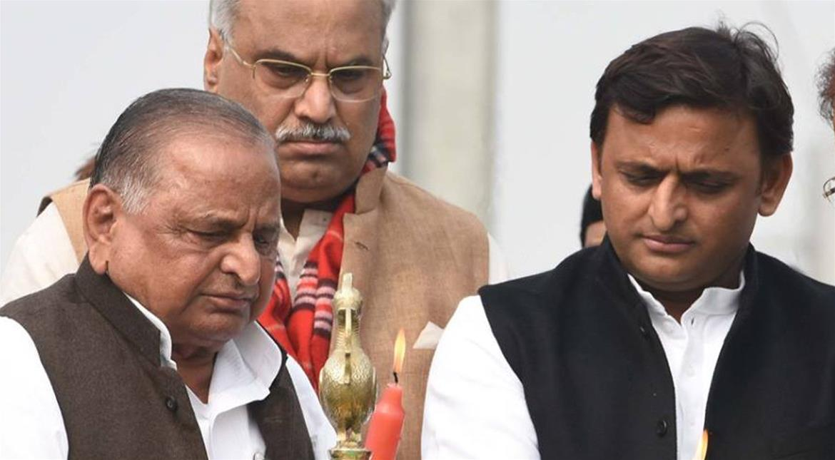 Akhilesh Yadav supporters declare him Samajwadi Party president, Mulayam Singh calls it 'unconstitutional'