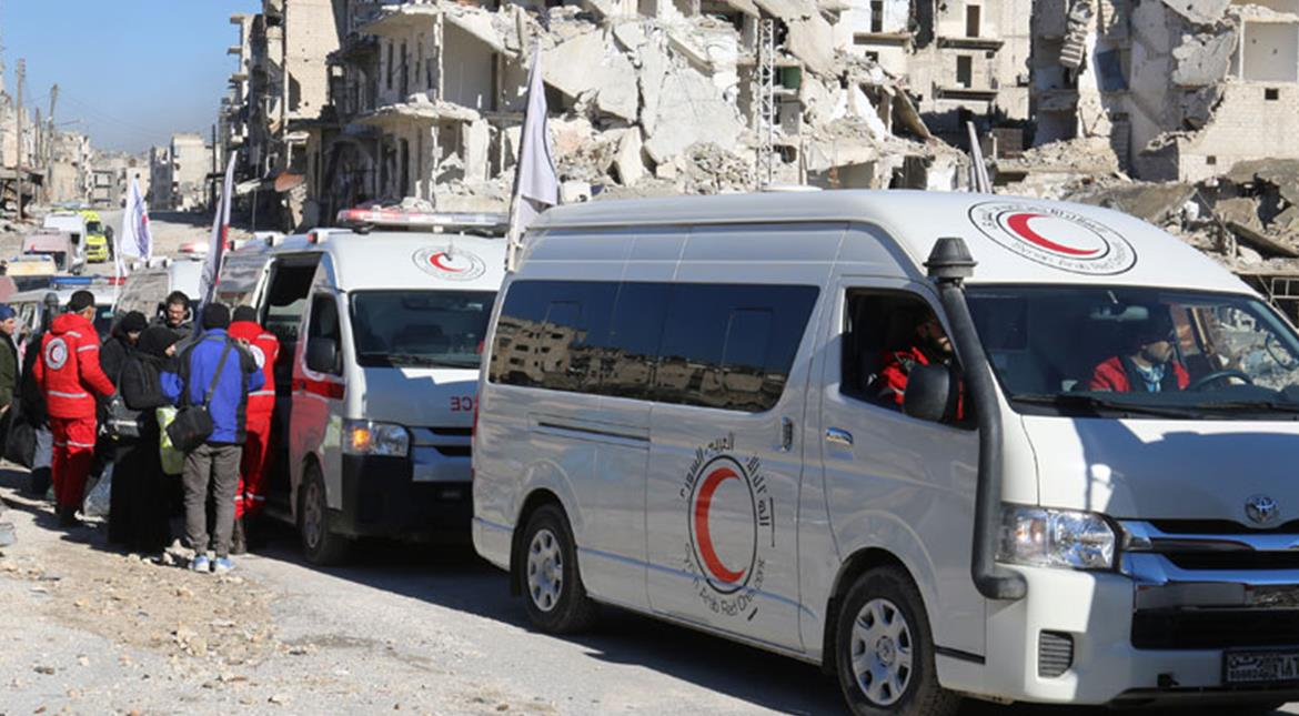 Syria rebels evacuate Aleppo after ceasefire deal
