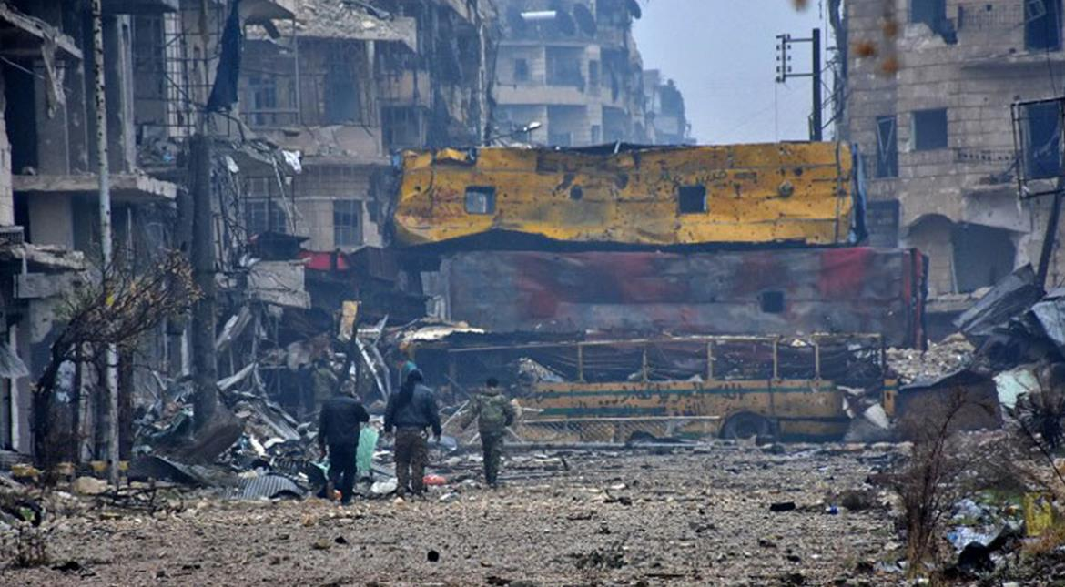 Syria: Fighting in east Aleppo over as rebels reach deal with government to evacuate city