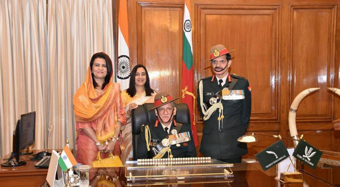 Bipin Rawat, Birender Dhanoa take charge as Indian army, air force chiefs