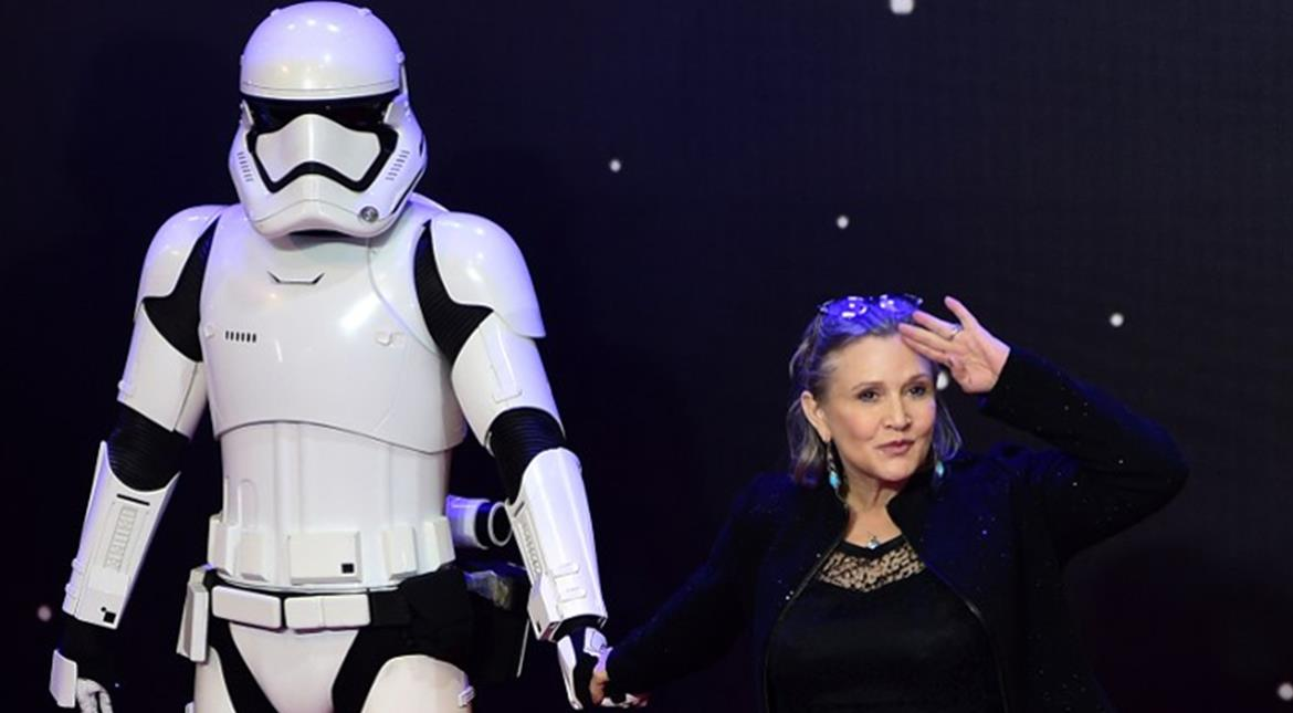 'Star Wars' actress Carrie Fisher is 'stable'