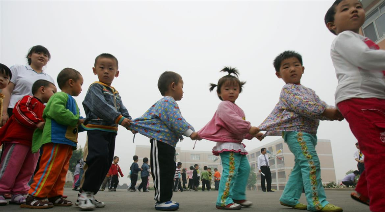 China: Man stabs 11 children at kindergarten school