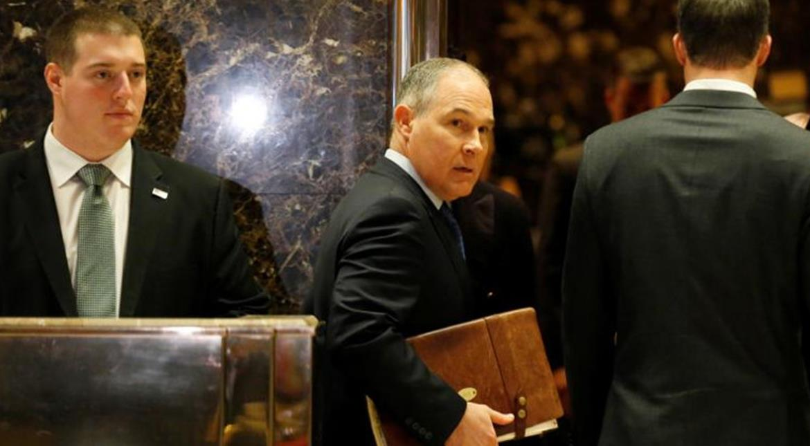Trump to name climate change sceptic to head environmental protection agency