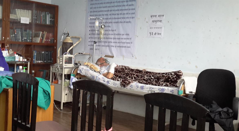 Hunger-striking doctor demands better healthcare in Nepal