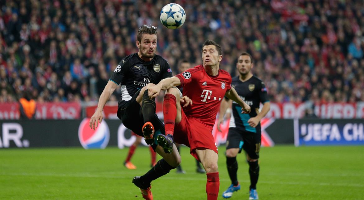 Champions League last 16: Arsenal paired with Bayern Munich, City get Monaco