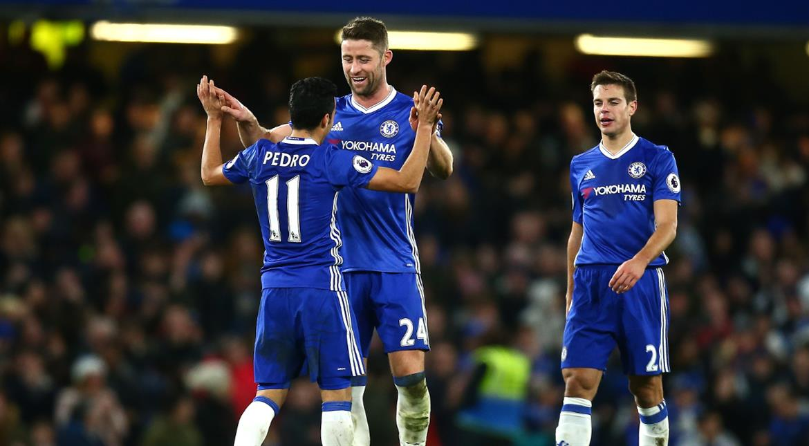 Chelsea ease past Bournemouth for record 12th win