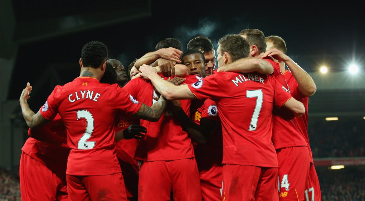 Football: Resurgent Liverpool fight back to thrash Stoke