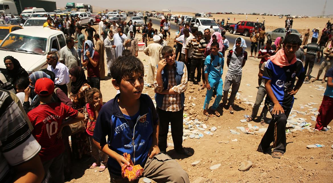 Mosul's humanitarian crisis continues as Iraqi forces fight IS