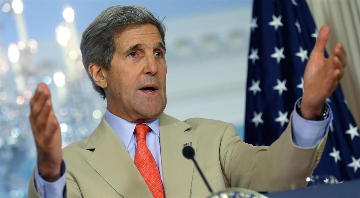 Two states only way to secure Israeli-Palestinian peace: Kerry