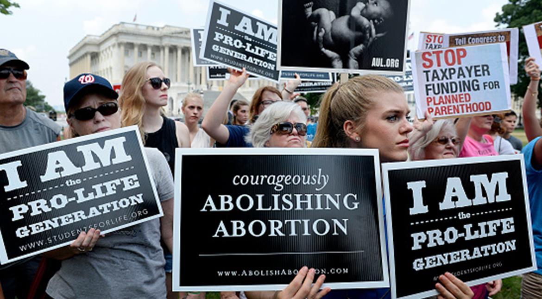 Trump inspires American anti-abortionists