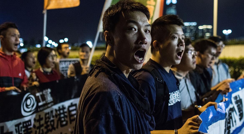 China says no space for Hong Kong independence