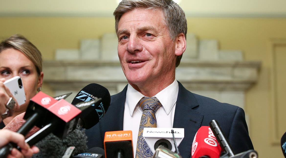 Bill English elected to replace New Zealand PM John Key