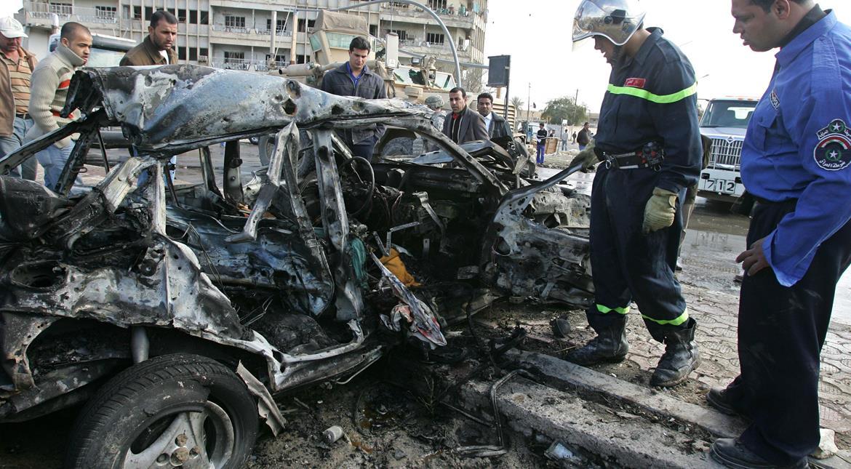 Eight killed in twin car bombings in Iraq