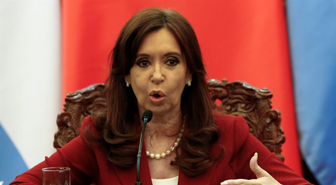 Former Argentine president Kirchner charged with graft