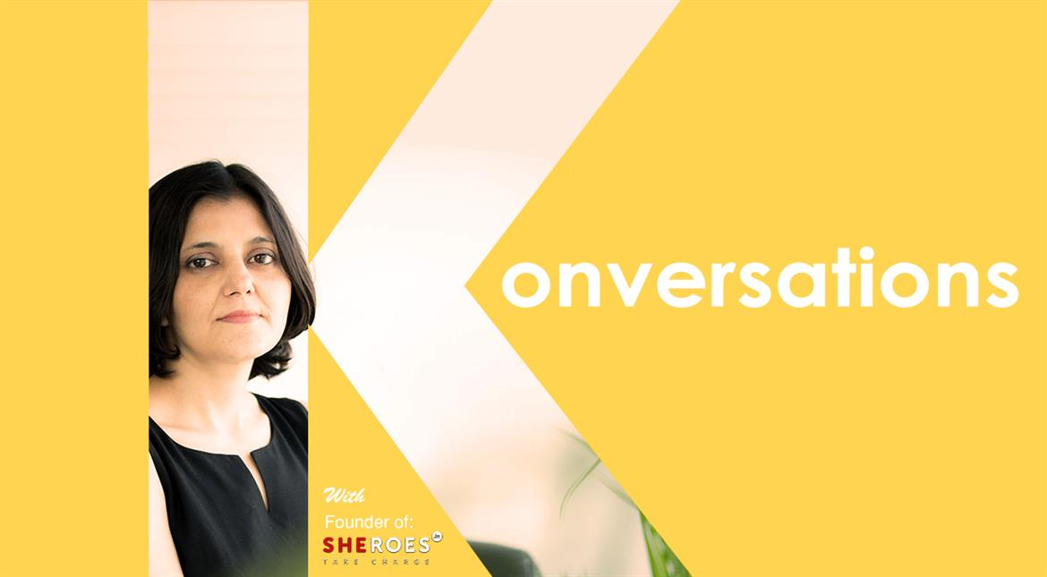 Konversations: How can she go from a caregiver to a disruptor?
