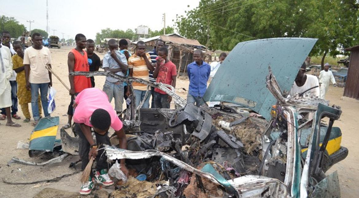 Two young girls blow themselves up in Nigerian market; 3 dead, 18 injured