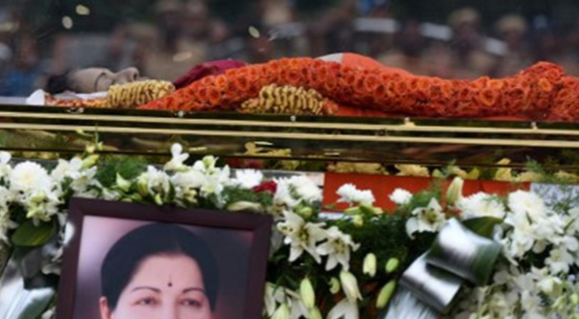 Jayalalithaa's final journey: Amma laid to rest with full state honours