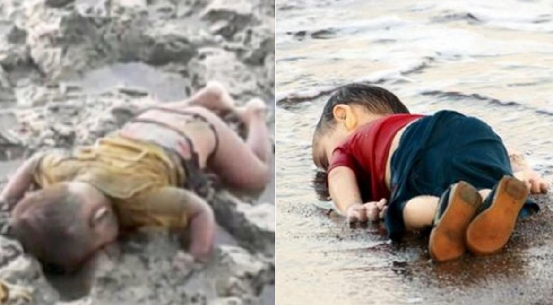 Rohingya infant washes up dead, reminds world of Syrian boy Alan Kurdi